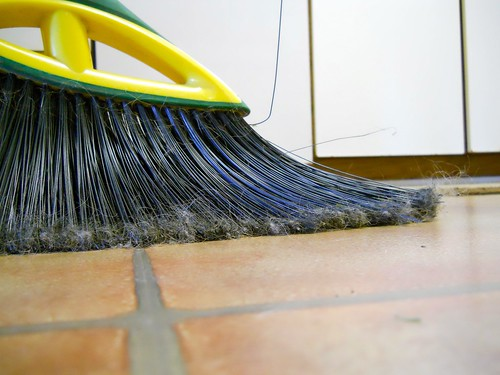 """A new broom sweeps clean, but the old broom knows the corners"" 