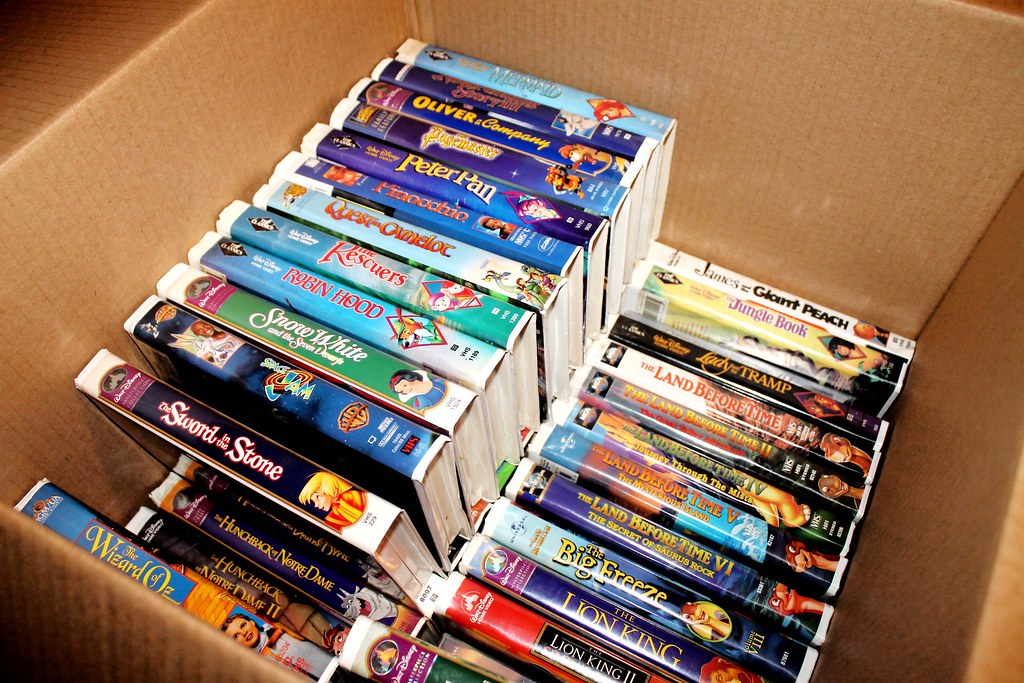Your Old Disney Vhs Tapes Could Be Worth A Lot Of Money
