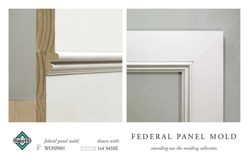 The windsorone classic american molding collection flickr for Colonial trim molding