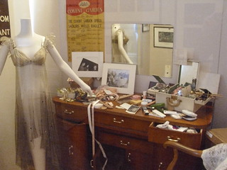 Recreation of Margot's Fonteyn's dressing room © ROH 2011 | by Royal Opera House Covent Garden