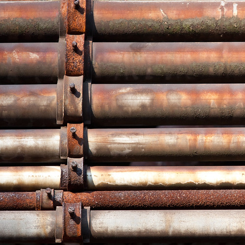Rost Kunst Rust Art - Pipes and lines | by MichaelSanderDU