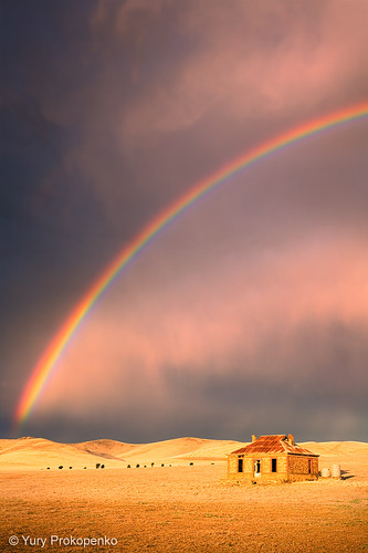 Storm and Rainbow | by -yury-