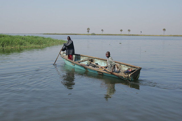 Most freshwater fisheries on the African continent are small-scale and labor-intensive artisanal fisheries. Photo by Stevie Mann, 2007.