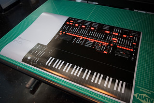 ARP 2600 Poster Test Print | by Eric Carl