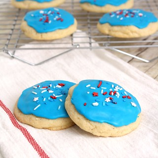 Soft Frosted Sugar Cookies | by Tracey's Culinary Adventures