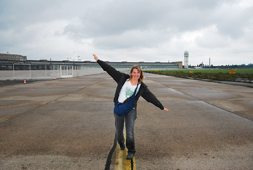 PilotGirl at Templehof | by PilotGirl