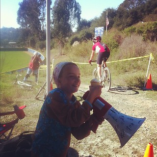 Cupcake + Megaphone = Heckle Machine #cyclocross | by Slonie
