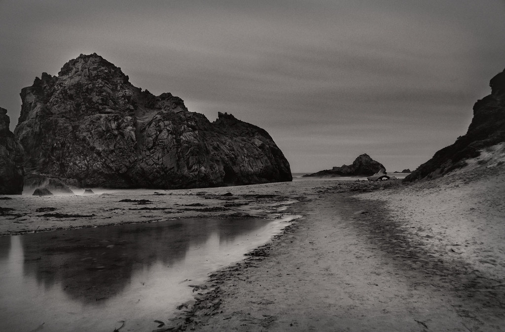 Pfeiffer Beach by Moonlight