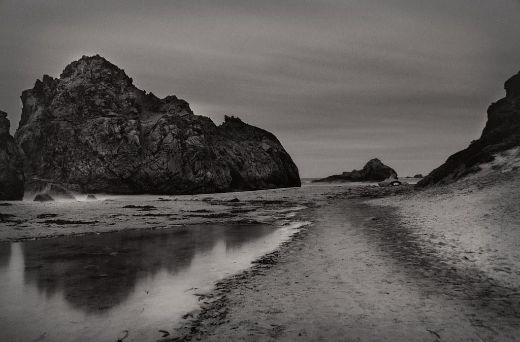 Pfeiffer Beach by Moonlight
