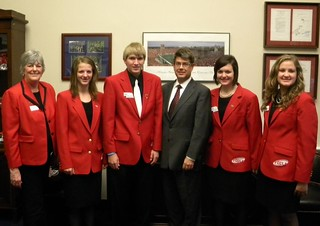 Rep. Terry and the Nebraska FCCLA Delegation | by Representative Terry