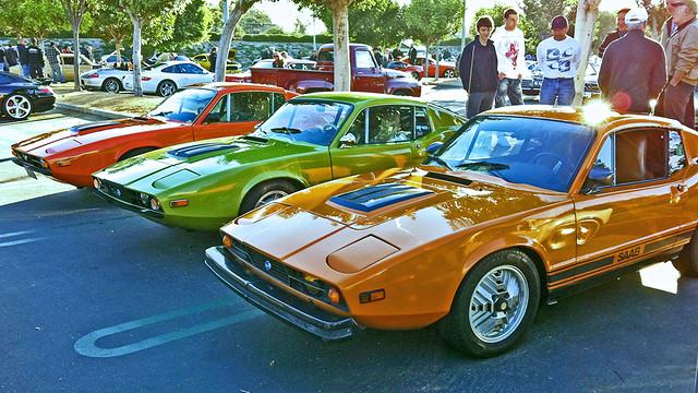 Three Saab Sonnett IIIs