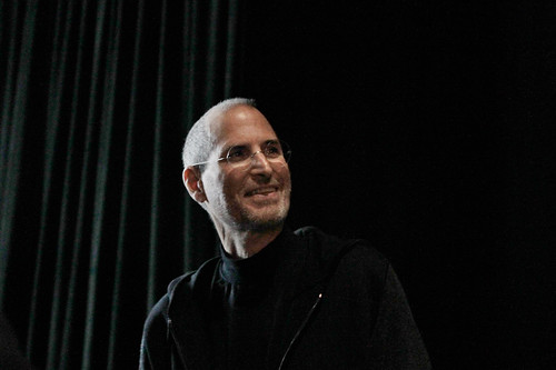 Steve Jobs at iPad announcement 2010 | by Wired Photostream