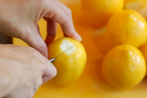 Making preserved lemons by Eve Fox, Garden of Eating blog, copyright 2011 | by Eve Fox