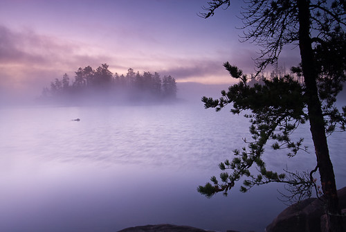 Boundary Waters Sunrise | by Bryan Hansel