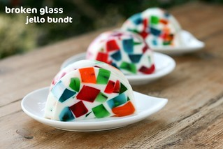 Broken Glass Jello Bundt - I Like Big Bundts 2011 | by Food Librarian