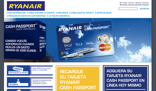 Cash Passport de Ryanair | by VivirEuropa