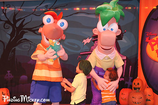 phineas & ferb meet their twins :) | by Finding Mickey