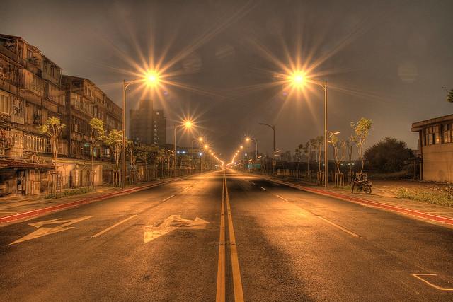 市民大道七段夜景 HDR