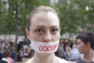 Woman at Occupy Wall Street | by WarmSleepy
