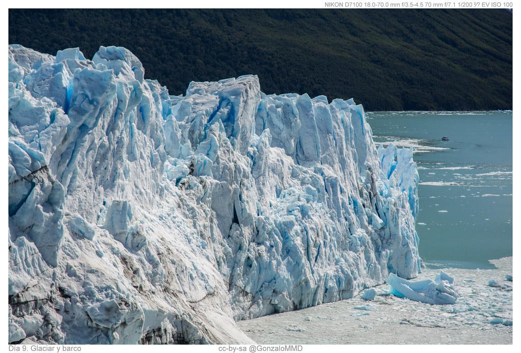 Día 9. Glaciar y barco