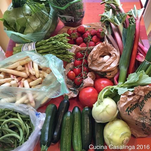 Wochenmarkteinkauf KW 22