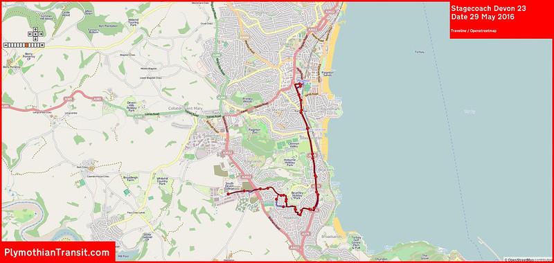 2016 05 29 Stagecoach Devon Route-023 Traveline Map.jpg