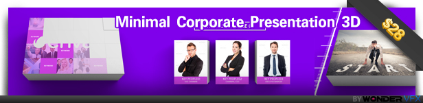 Minimal Corporate Presentation 3D