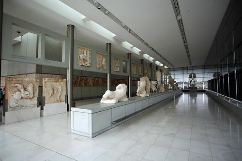 Museo dell'Acropoli: interni