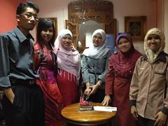 Birthday Fara, En. Hisham, En. Khalid 13apr2012