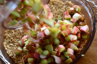 Rhubarb Crunch | by Erica Lea