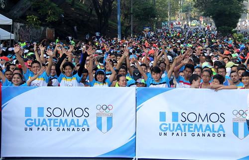 XXVIII Carrera del Día Olímpico en la ciudad capital