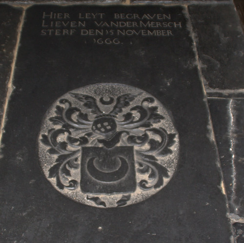 Grave in the St Bavo Church, Haarlem, The Netherlands | by hbvk