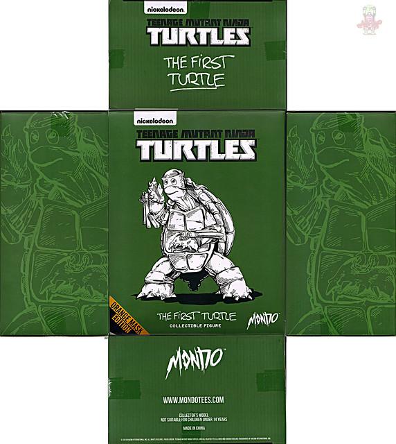 MONDO; Nickelodeon TEENAGE MUTANT NINJA TURTLES ; THE FIRST TURTLE (ORANGE MASK EDITION) / ..box i (( 2016 ))