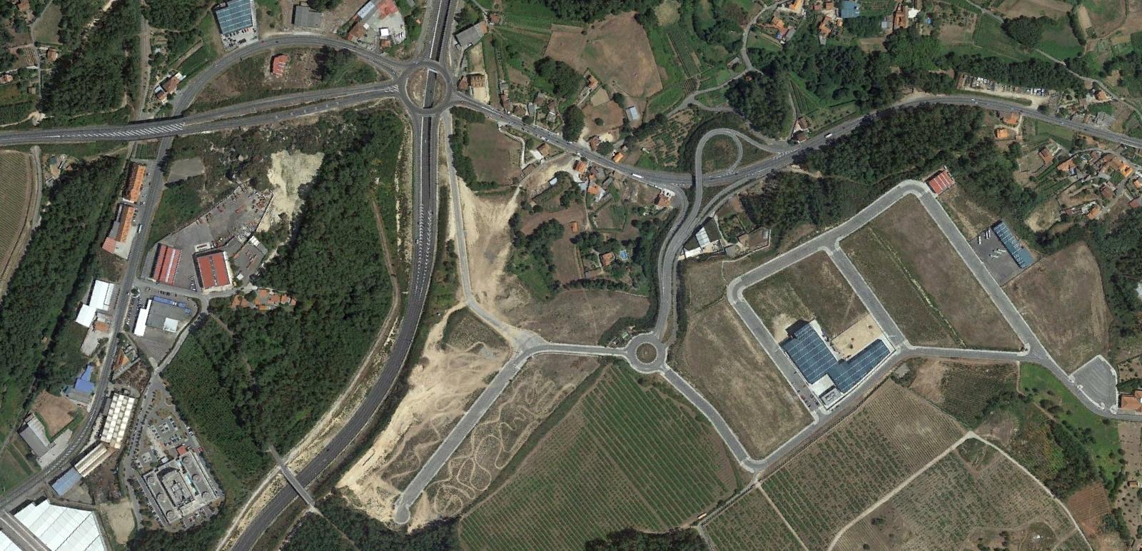 parque empresarial vilanova I, vilanova de arousa, pontevedra, si valle inclán levantara la cabeza, después, urbanismo, planeamiento, urbano, desastre, urbanístico, construcción, rotondas, carretera