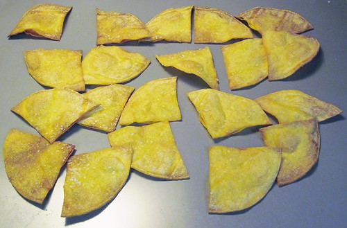 Homemade baked tortilla chips | by SaucyGlo