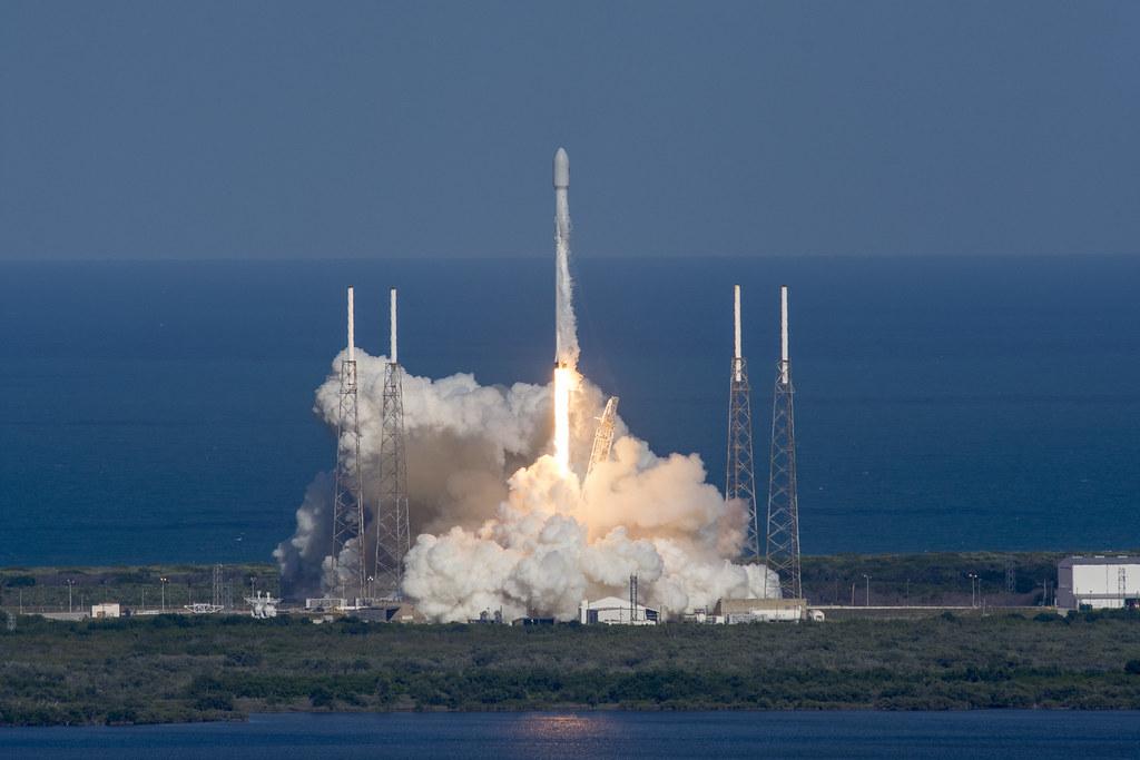 THAICOM 8 liftoff