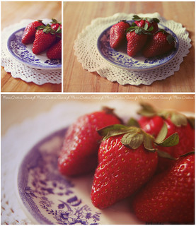 Strawberry Set | by Maria Cristina Savino | Photography