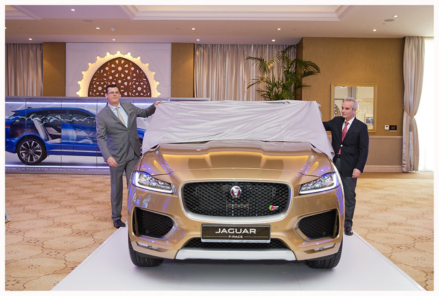 F-PACE Launch Qatar