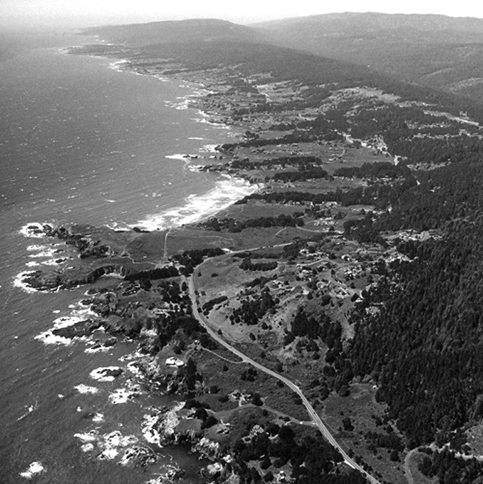 sea ranch aerial
