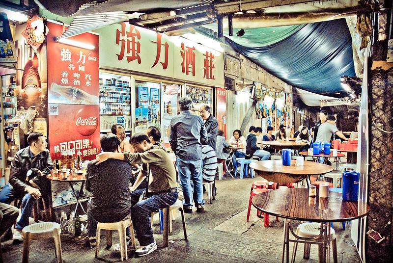 Dai Pai Dong, Mong Kok, Kowloon. Image: B Clarke, CC