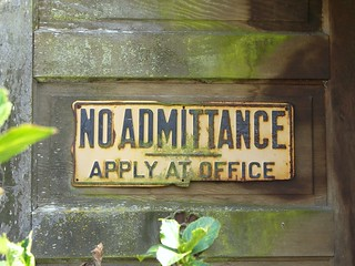 No Admittance, Mt Vernon, Washington | by teresue