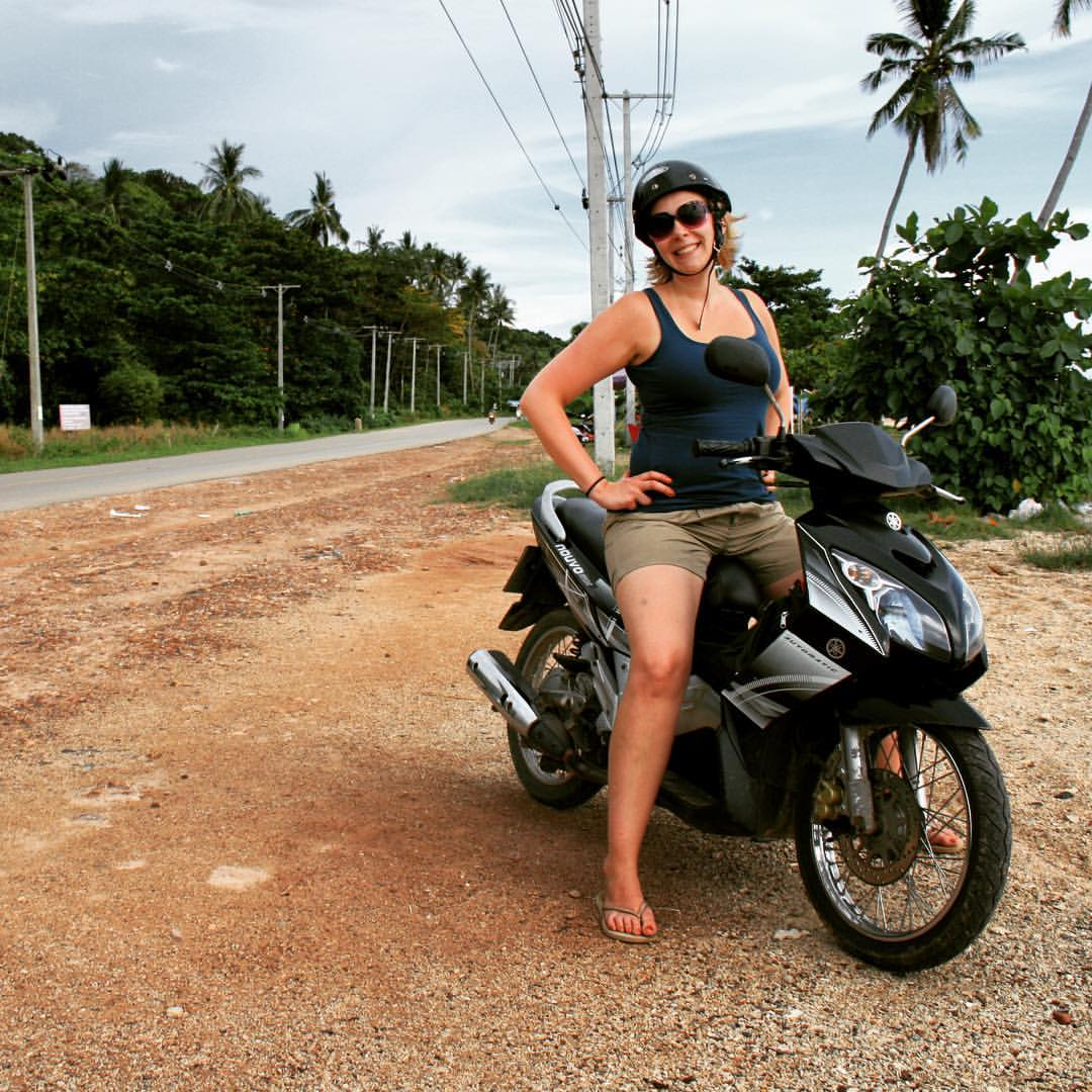 AROUND THE WORLD 2012 | #16 | THAILAND The very first time. #rtw #rtw365 #maailmanympärimatka #RTW2012 #2012 #thailand #thaimaa #kohlanta #scooter #motorbike #drivingaround #instagramtravelthursday #igtt