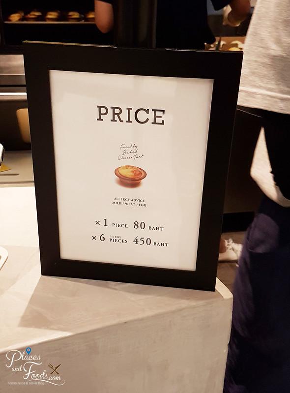 bake hokkaido cheese tart emquartier price