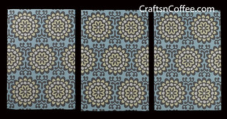 Amy Buter Blue Sky fabric as DIY Wall Art | by Sharon at STYROCrafts