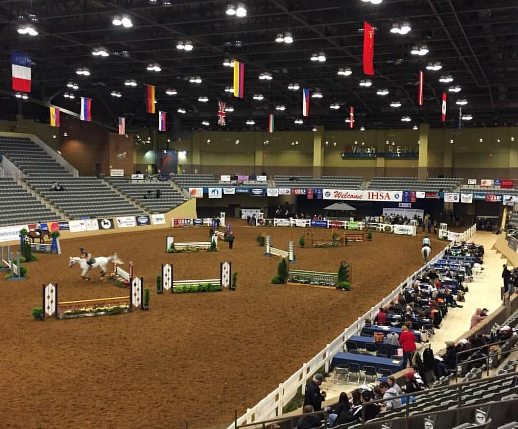 Todays Arena #equestrian #ihsa #nationals