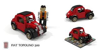 FIAT 500 Topolino (1947)