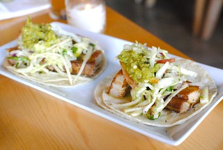 pork belly tacos | by Darin Dines