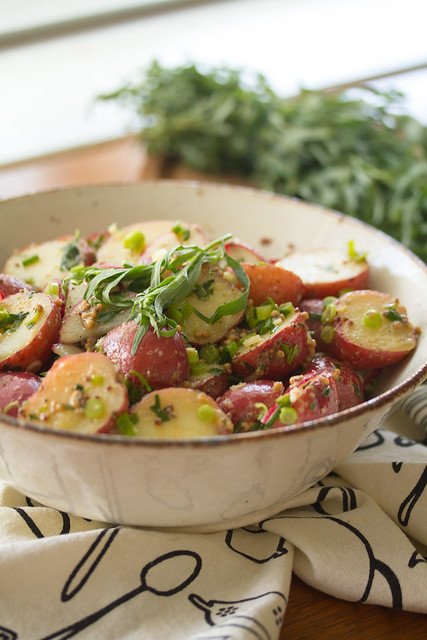 Mustard-Tarragon Potato Salad
