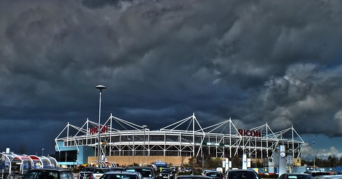 Black Clouds Over The Ricoh | by nilacop