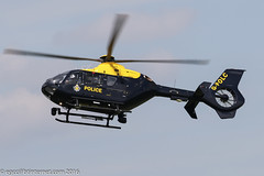 G-POLC - 2001 build Eurocopter EC135 T2+, new Barton resident at the Police ASU